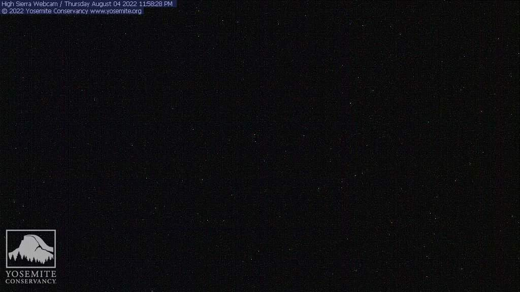 Yosemite National Park / webcam view from Sentinel Dome
