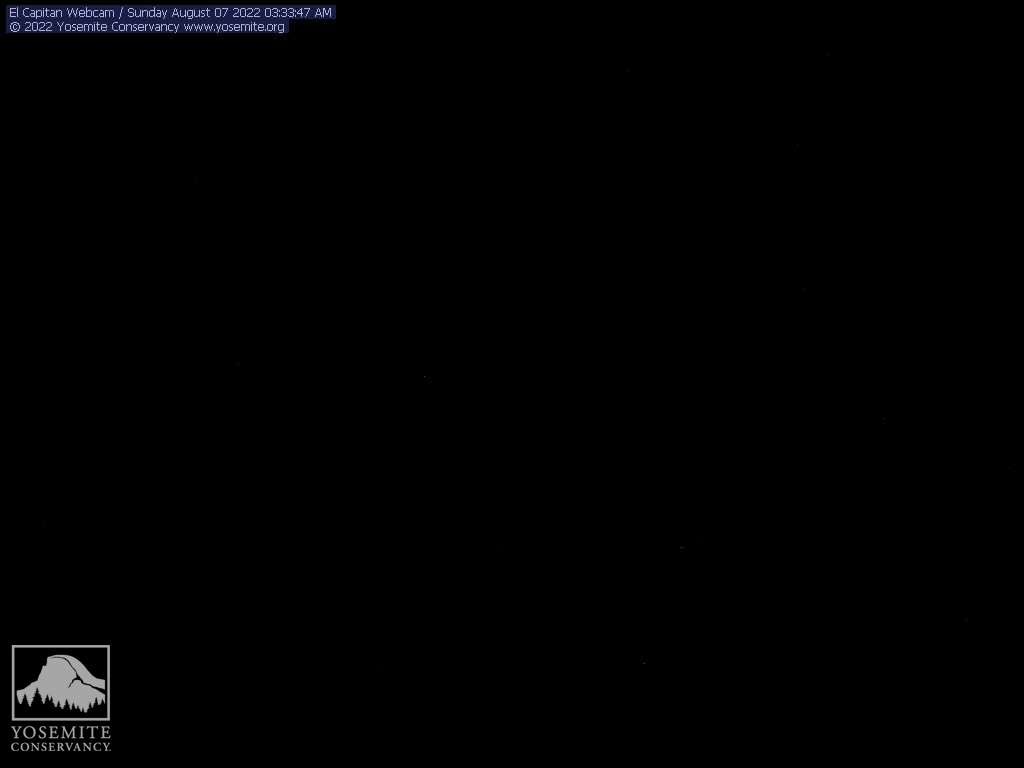 Yosemite National Park / webcam view from Turtleback Dome