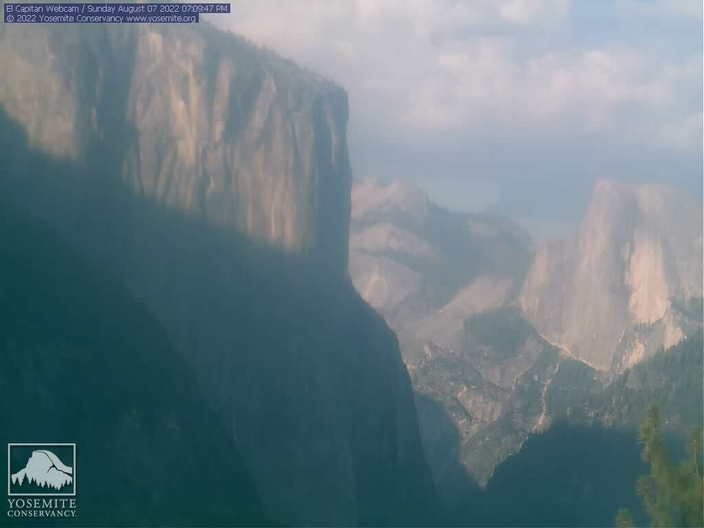 Webcam Yosemite Turtleback - California