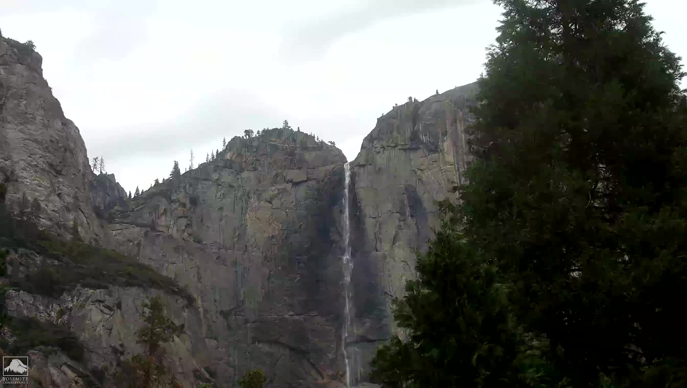 View of Upper Yosemite Fall