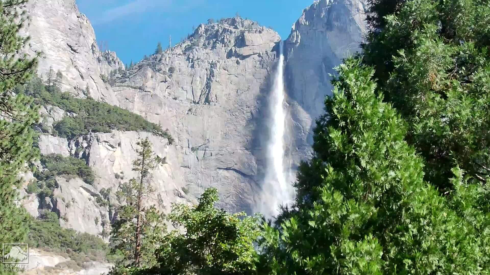 View of Upper Yosemite Fall